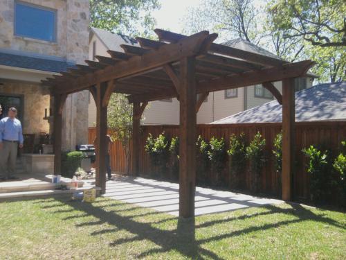Pergola Installation in Dallas